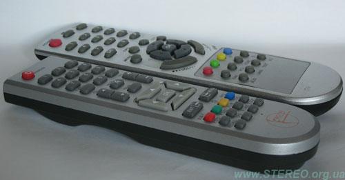 Homecast & Kaon - remote control units - angle view