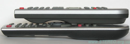 Homecast & Kaon - remote control units - side view