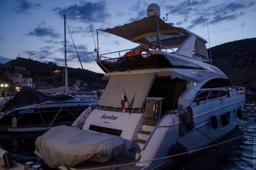 Яхта из Панамы. Международное морское сообщение с Крымом работает.