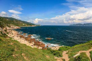 Шэньчжэнь, морской горизонт