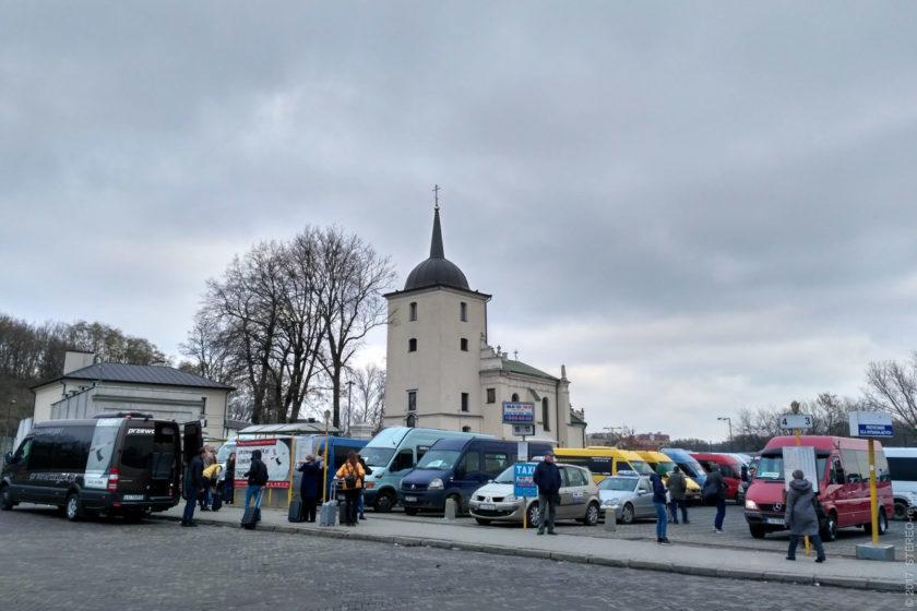 Спасо-Преображенский собор Польской Православной Церкви встречает всех гостей Польши, прибывающих в страну через Люблин.