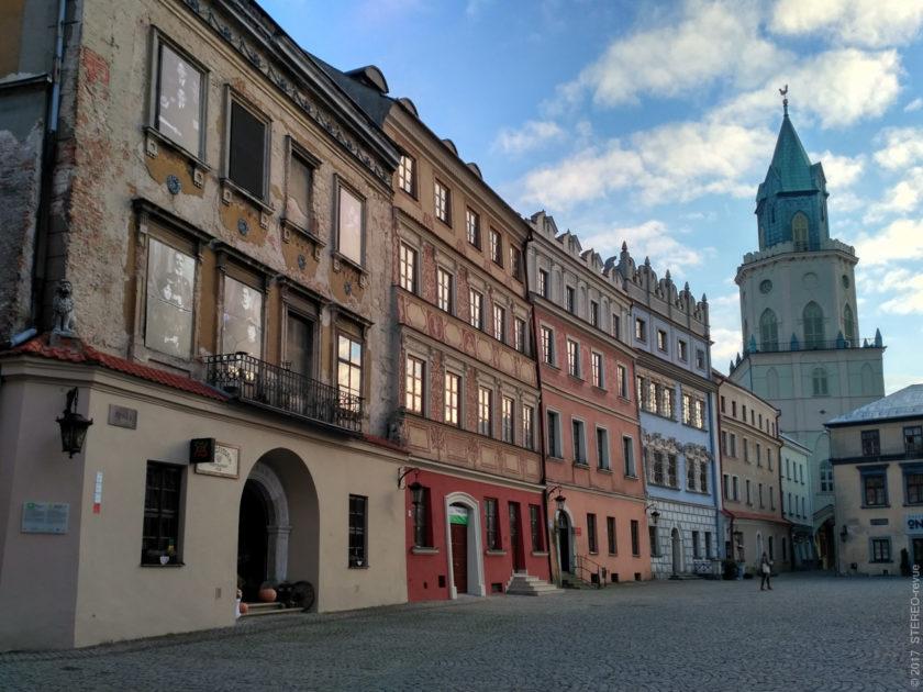 """Улица Рынэк. Что-то вреде львовской площади Рынок - идёт вокруг квартала. От немецкого слова """"рынк"""" - круг"""