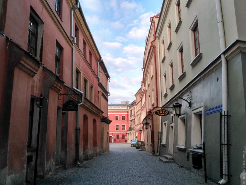 Плотность застройки старого города