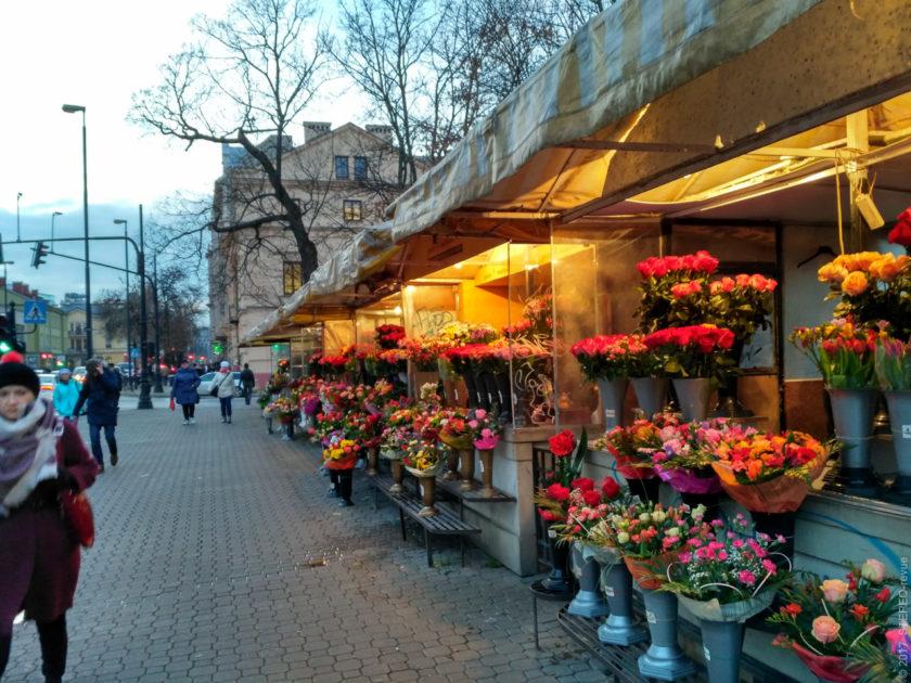 Цветочные ряды Люблина