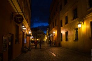 В старом городе весь свет - от фонариков