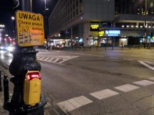 Почти все пешеходные переходы оснащены ручным управлением