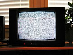 Empty TV channel